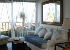 Apartamento frente al mar en Montevideo
