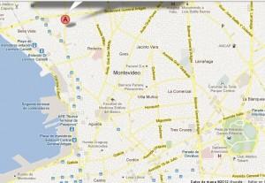 mapa el prado montevideo