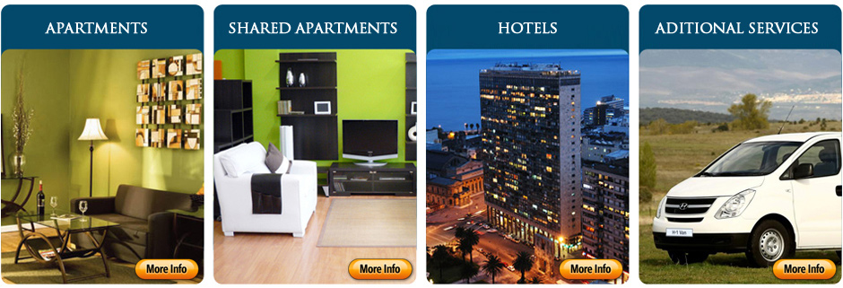 Rent furnished apartment Montevideo