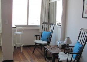 Excellent studio apartment with sea view in Pocitos area