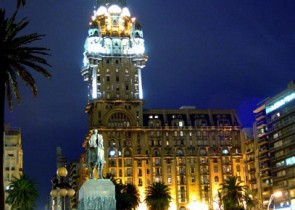 Furnished apartment in Palacio Salvo (Historical Building of Montevideo)