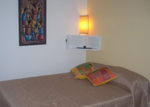 Studio Apartment in Pocitos with a balcony overlooking the sea